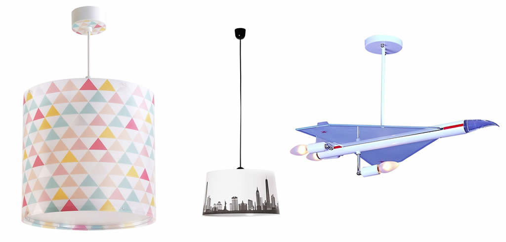 comprar lampara techo juvenil